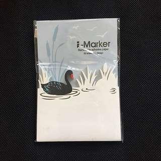 包郵 台灣設計 動物剪紙便利貼