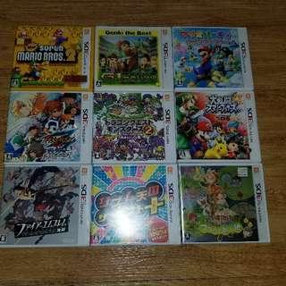 3ds Game Mario 大亂鬥 怪獸仙境2 火炎之紋章 牧場物語 節奏天國 閃電11人