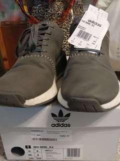 Adidas NMD R2 灰色鞋
