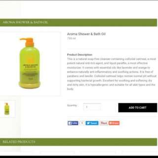 😍LUCKY $39.80 SALE!!! 750ML BOTTLE!! 【BEST FOR ECZEMA & SENSITIVE SKIN】🍊 MOST SOOTHING MOISTURISING BODY CLEANSING OIL!!👏🏻Niks Maple Aroma Shower & Bath Oil (750ml) Brand New & Shrinked Wrapped