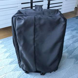 Muji soft case luggage travel bag trolley