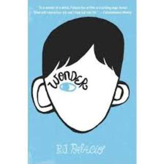 Wonder, Auggie& me, 365 days of wonder e-book (kindle suitable)