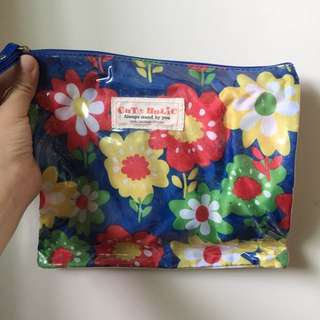 BN Floral Pouch Make Up Makeup Cosmetics Toiletries Travel Bright Colourful Flowers