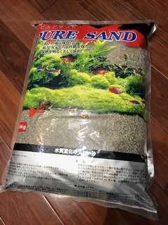 魚缸底沙 pure sand