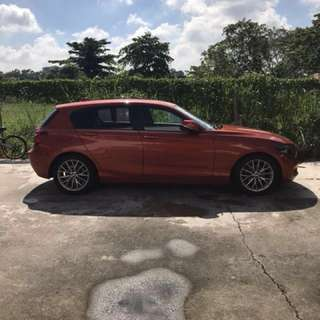 Bmw 116i F20 For Rental