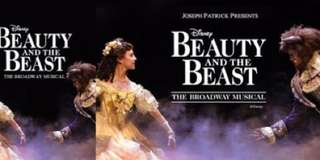 Beauty and the beast broadway musical (2 tickets)