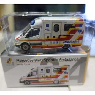 模型 救護車