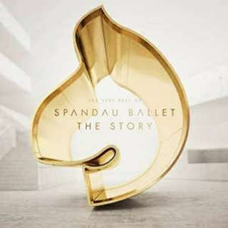 arthcd SPANDAU BALLET The Story Best Of CD+3 New Songs (To Cut A Long Story Short, Chart No.1, True, Gold, Communication, Lifeline, Only When U Leave, I'll Fly For U, Highly Strung, Round & Round, Through The Barricades, Once More etc)