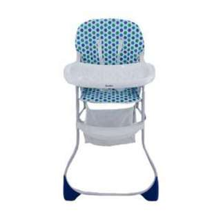Highchair High Chair Kursi Makan Cocolatte 039 BCX44 Blue Dot