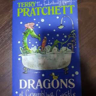 terry the fantastically funny pratchett, dragons at crumbling castle