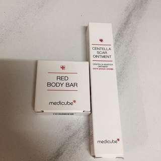 Medicube Centella Scar Treatment & Red Body Bar