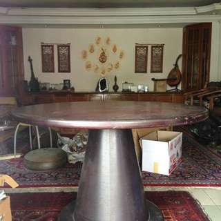 Vintage Dining table collectibles designer Tajuddin Ismail