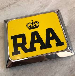 AA RAA 車會 鬼面罩章 全新