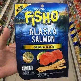 🚚 檸檬煙燻辣味鮭魚魷魚絲