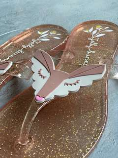 [Limited Edition] Authentic Jelly Bunny Flip Flop