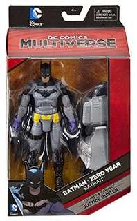 DC Multiverse Zero Year Batman No Justice Buster CNC Part