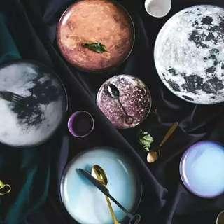 Seletti Galaxy Moon Plate