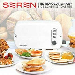 Seren Toaster plus Cover Tray, 850 W, French Cream