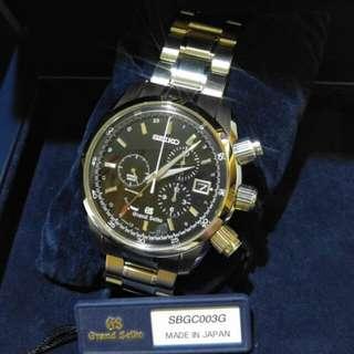 Grand Seiko SBGC003J 2017年9月購入  99% New