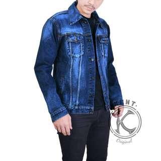 Denim Jacket jeans biowash man
