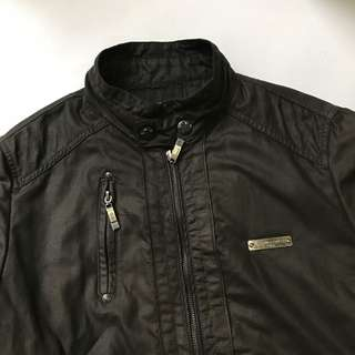 Jaket Kulit Leather Jacket Unbranded Mulus Murah