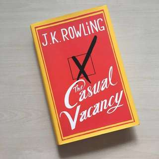 #Huat50Sale J.K. Rowling The Casual Vancancy