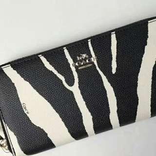 Authentic coach women wallet purse