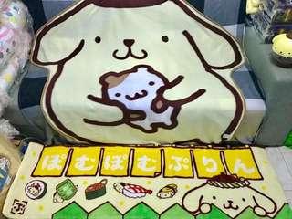 KOAOISORA Sanrio 2017 布甸狗 ポムポムプリン Premium Fluffy Long Mat プレミアムふかふかロングマット 150x45cm 景品地墊 (全新)