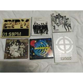 SALE!! KPOP ALBUMS BUNDLE