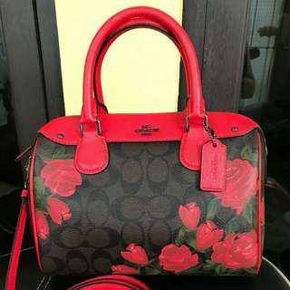 Coach Mini Bennett Satchel Floral #F25870