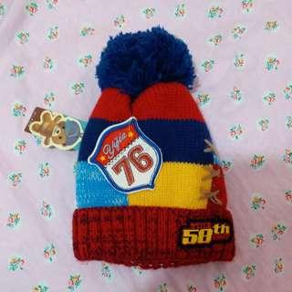 兒童 小童 嬰兒 厚身質料 冷帽 針織帽