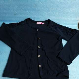 90% Size 7/8  kid Dark blue Jacket ,7-8years