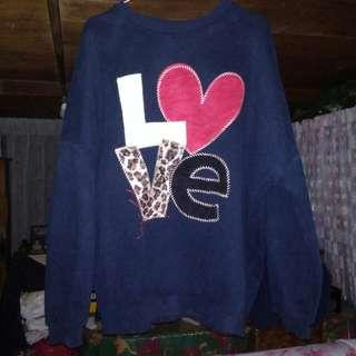 Dark Blue Sweater