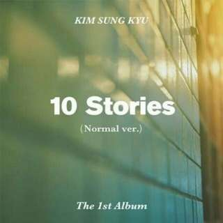 [MY GO] Kim Sung Kyu 1st Album 10 Stories