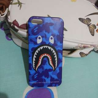 bape shark iphone 5s case