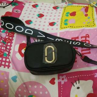 mj sling bag mini black