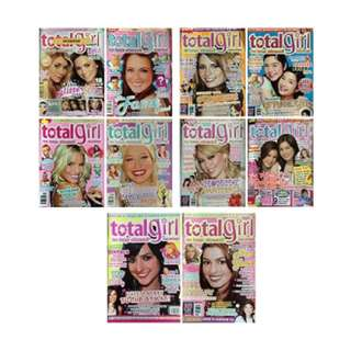 TOTAL GIRL Back Issues 10s