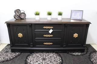 BEAUTIFULLY UPDATED ANTIQUE DRESSER/SIDEBOARD