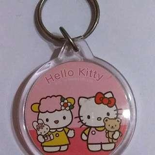hello kitty壓克力鑰匙圈