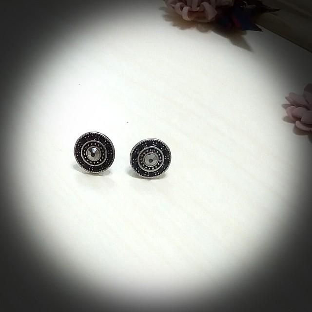 夾式   耳環