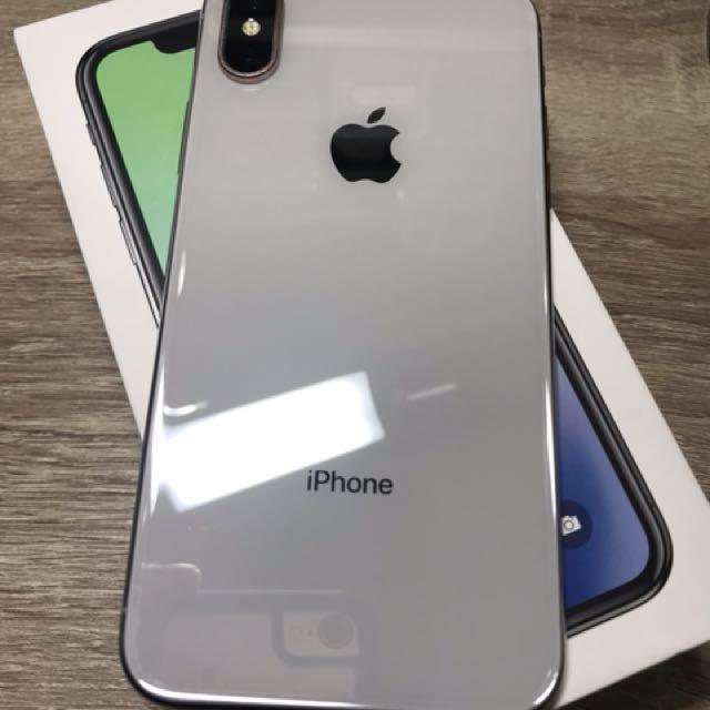 中古 IPhone X 64G 銀色