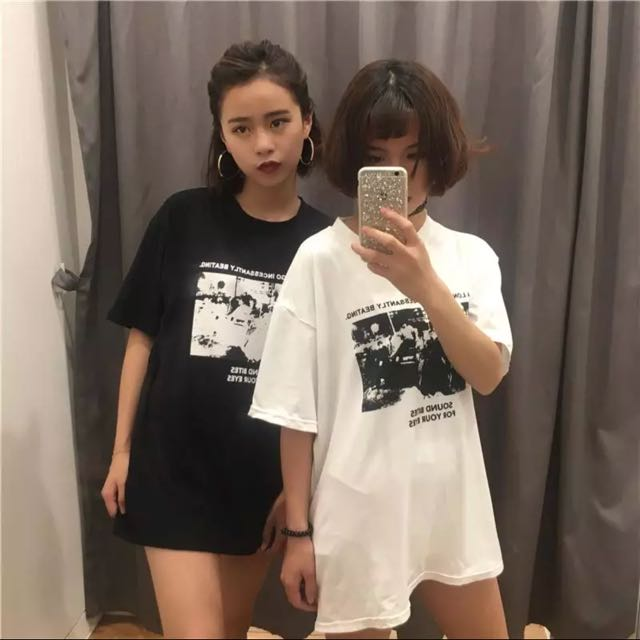 a2f278ca7 🆕🇰🇷 Ulzzang Chic Graphic Tee, Women's Fashion, Clothes, Tops on ...