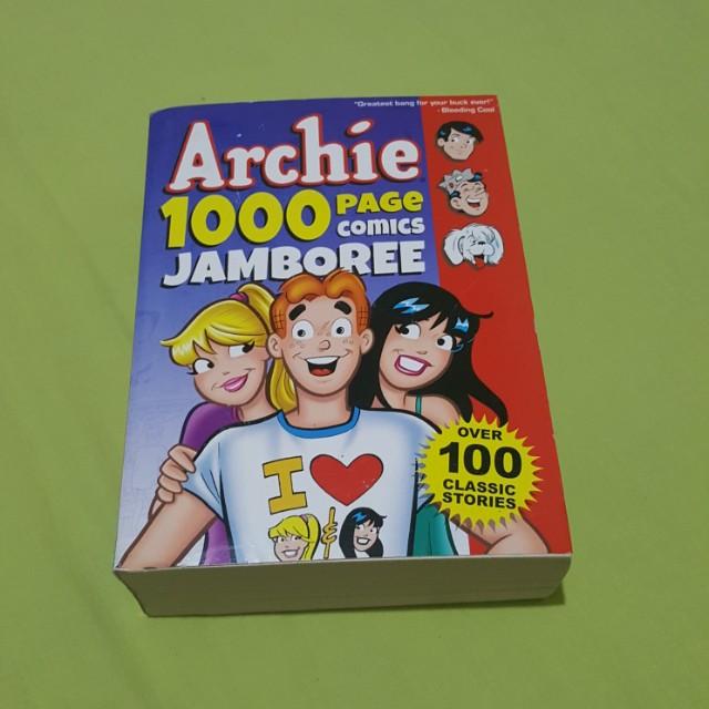 Archie jamboree 1000 pages