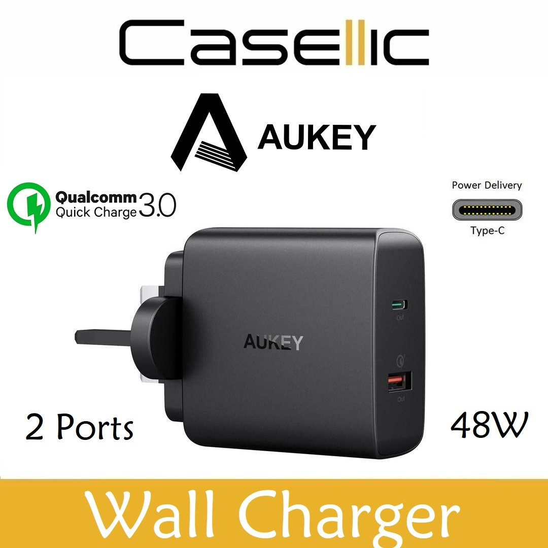 Aukey Usb C 48w Wall Charger Pd Power Delivery Qc 30 Mobile Phones Tablets Tablet Accessories On Carousell
