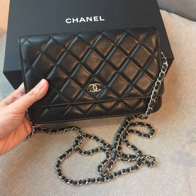 1ca5b93ff Authentic Chanel WOC lambskin, Women's Fashion, Bags & Wallets on Carousell