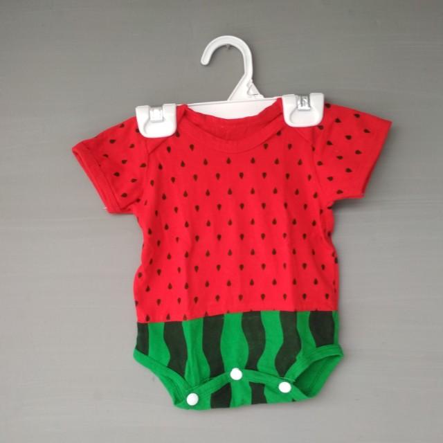 Baju anak motif Semangka Super cute