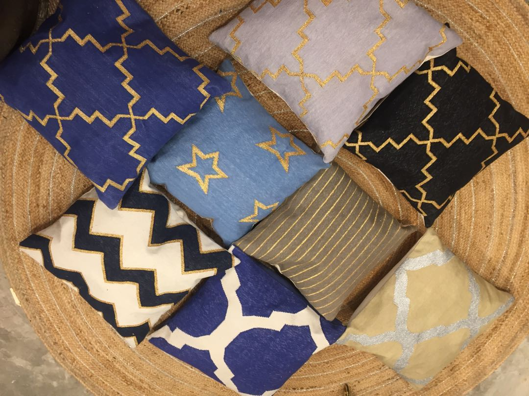 Beautiful cotton cushion covers!