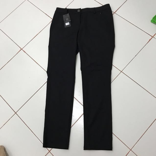 Bega Long Black Pant Trousers