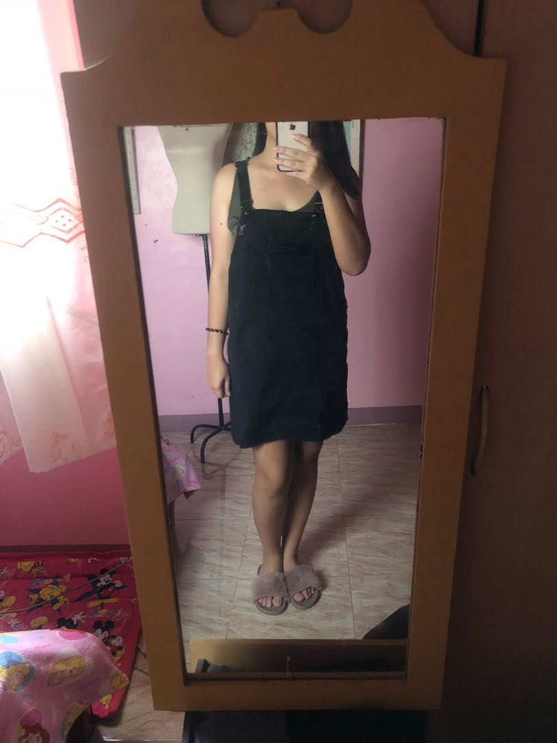 Black Jumpskirt