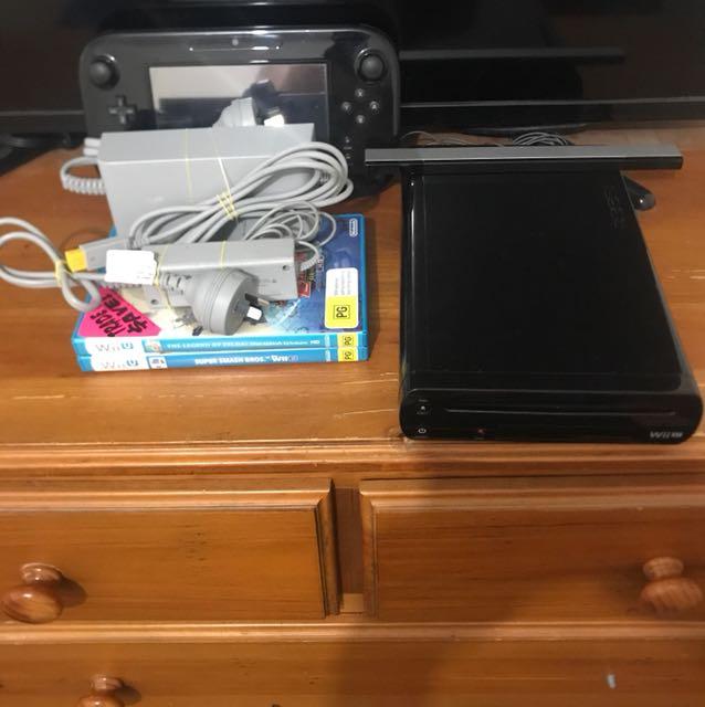 Black Wii U bundle
